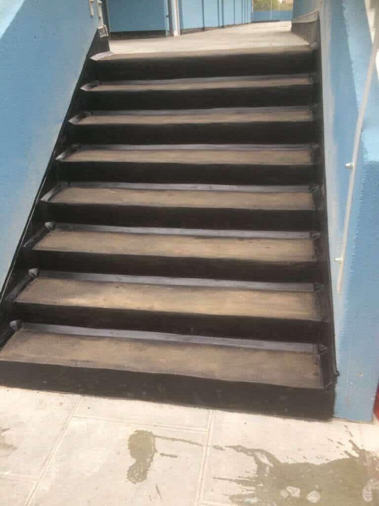 Mastic Asphalt Stairs Ashford