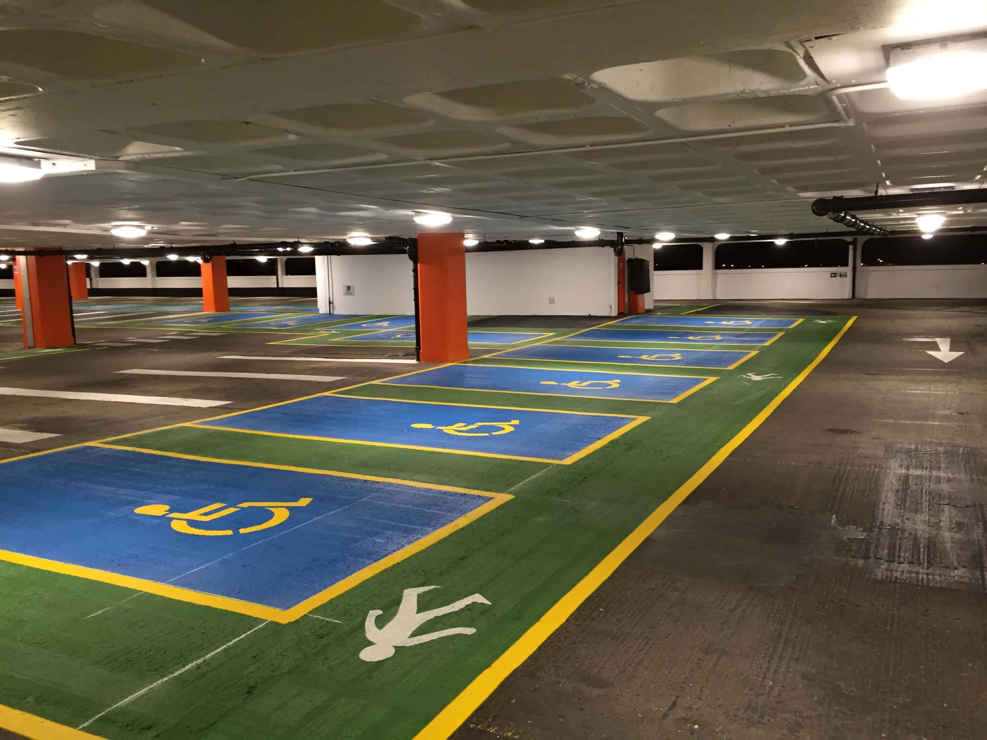 Underground Car Park resurfacing Ashford