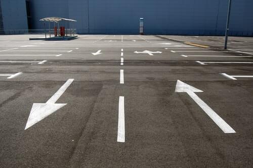 Car park line marking Surrey